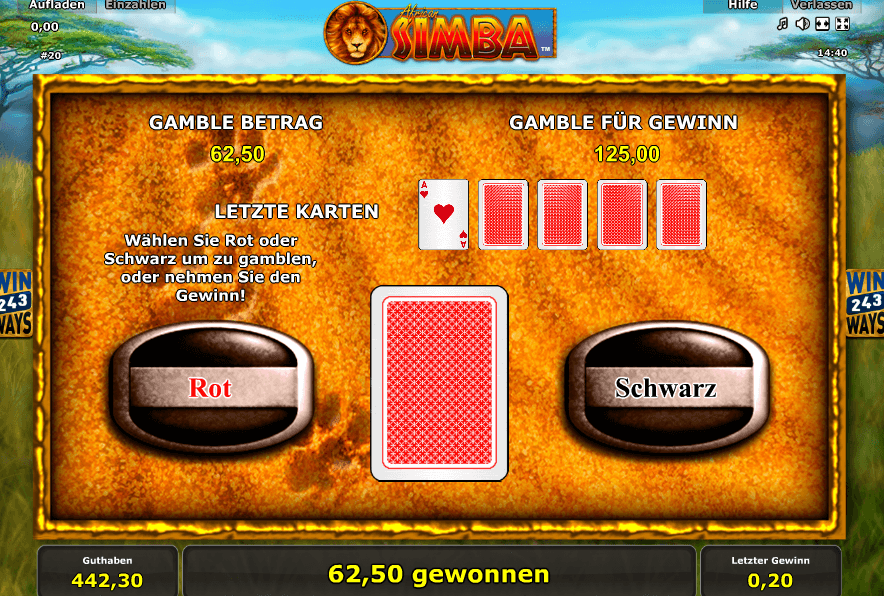 African Simba Gamble