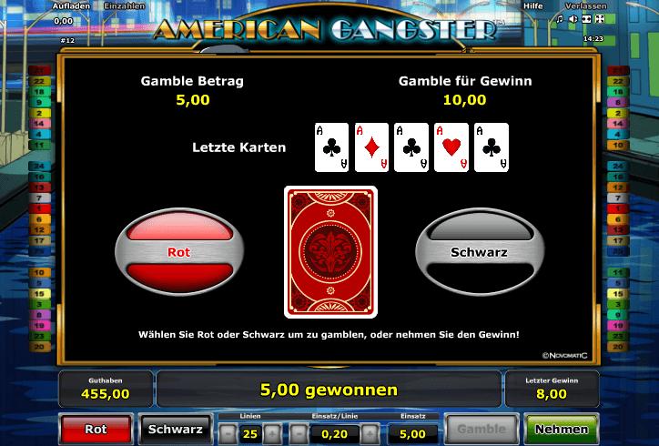 American Gangster Gamble