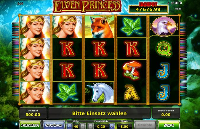 Elven Princess Spiel
