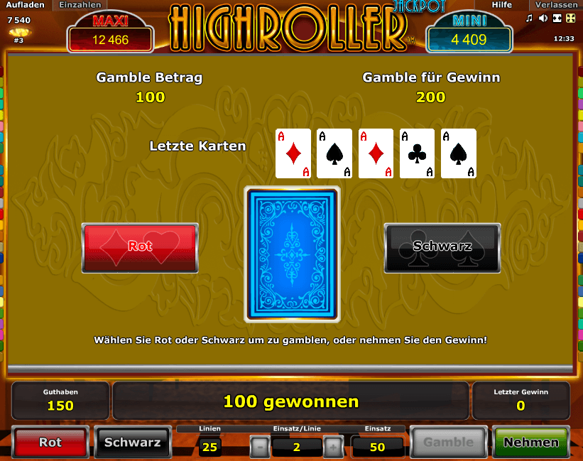 Highroller Gamble