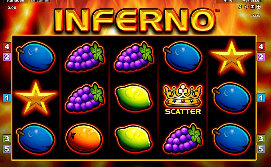 Spiele Inferno - Video Slots Online