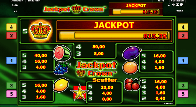 Jackpot Crown Symbole