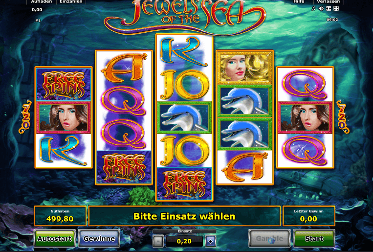Jewels of the Sea spielen