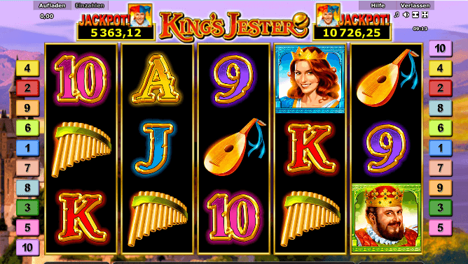 Spiele King'S Jester - Video Slots Online