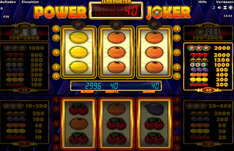 Power Joker Spiel