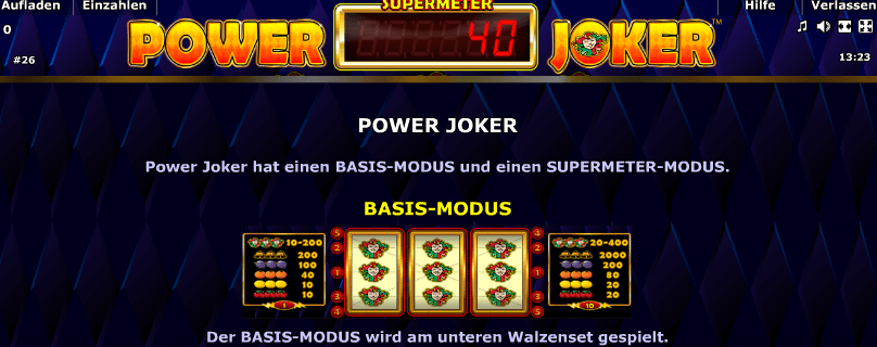 Power Joker Modus