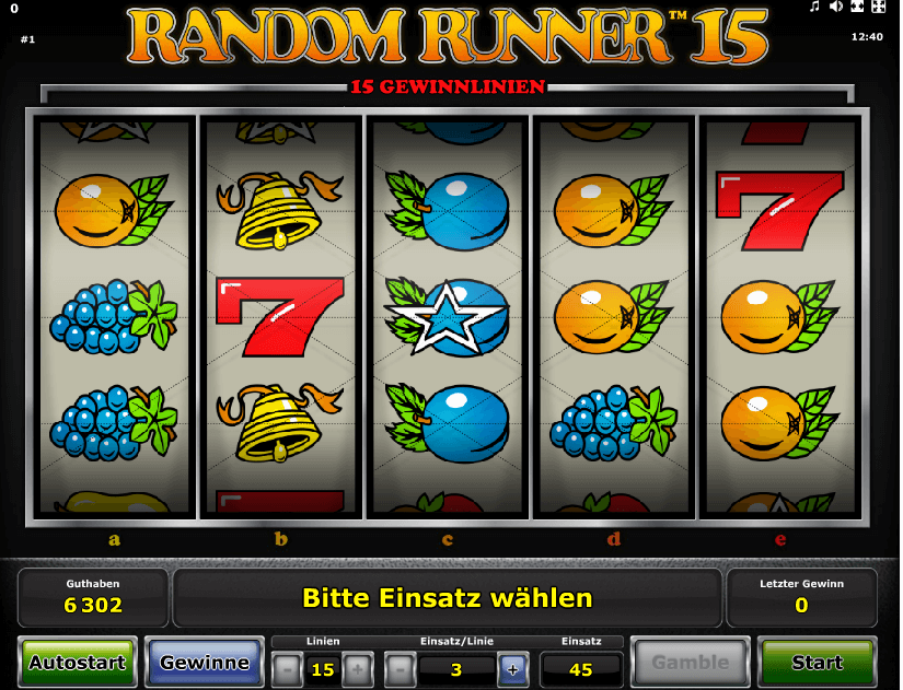 Spiele Random Runner 15 - Video Slots Online