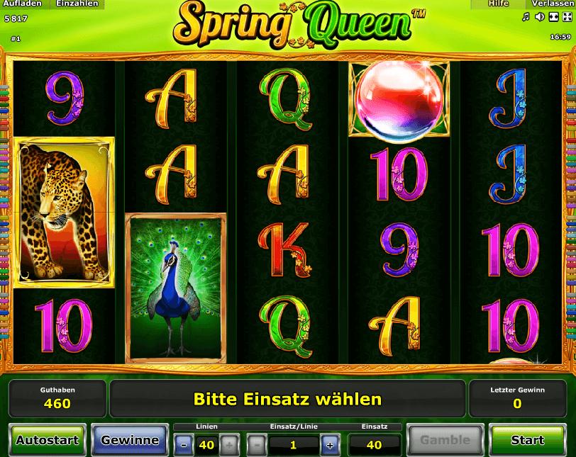 Spring Queen Spielen