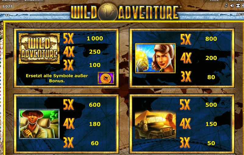 Wild Adventure Slot