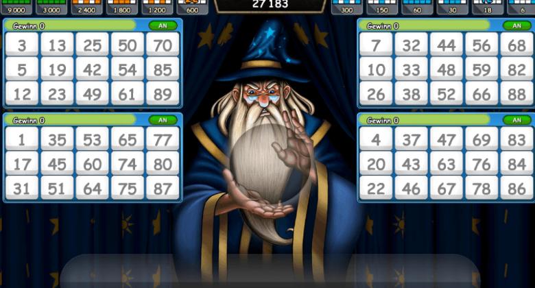 Wizard Bingo