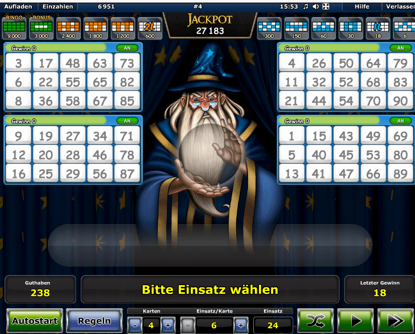 Bingo Los Preis